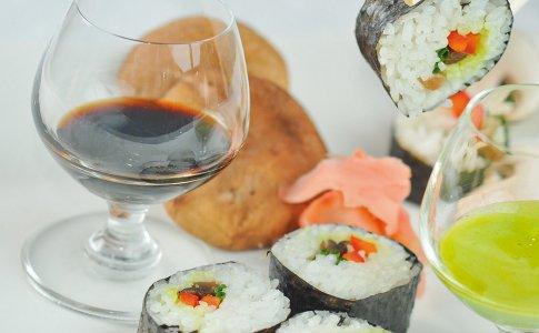 Sushi z shitake