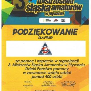 III Mistrzostwa Śląska Amatorów w Pływaniu